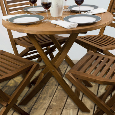 Dining Set in Teak