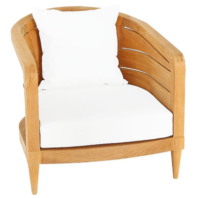 Stylish Outdoor Wooden Arm Chair